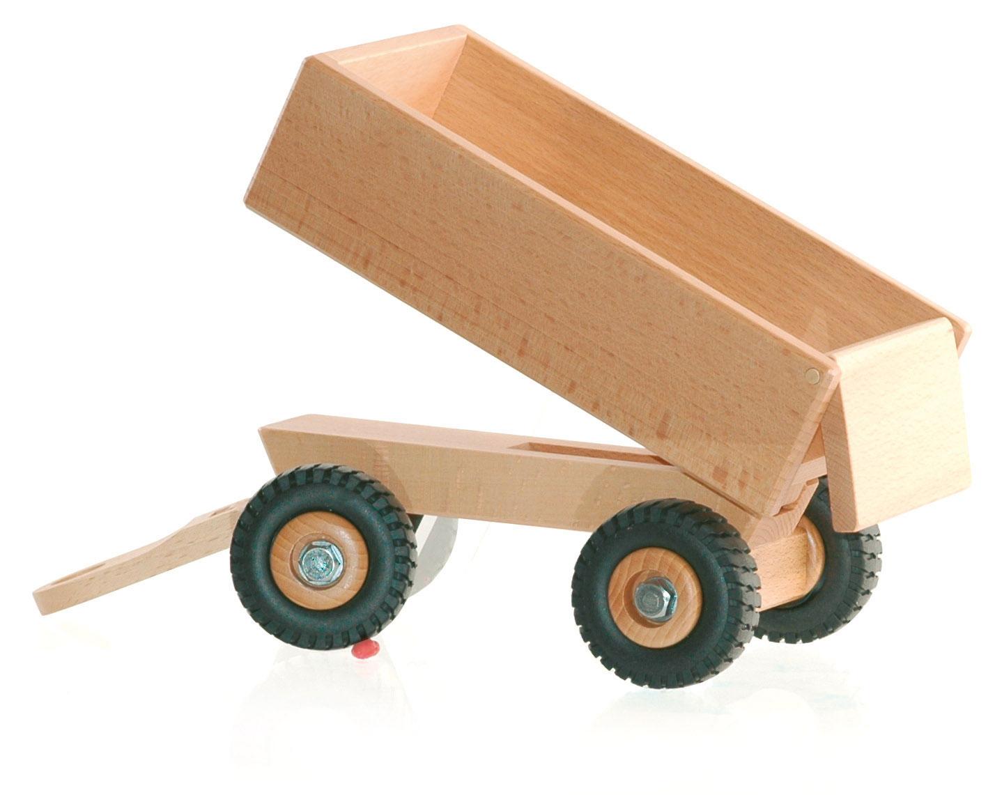 Bauernhof Ostheimer Traktor 5560040 Ostheimer Kipper für Traktor 5560046 Holzspielzeug